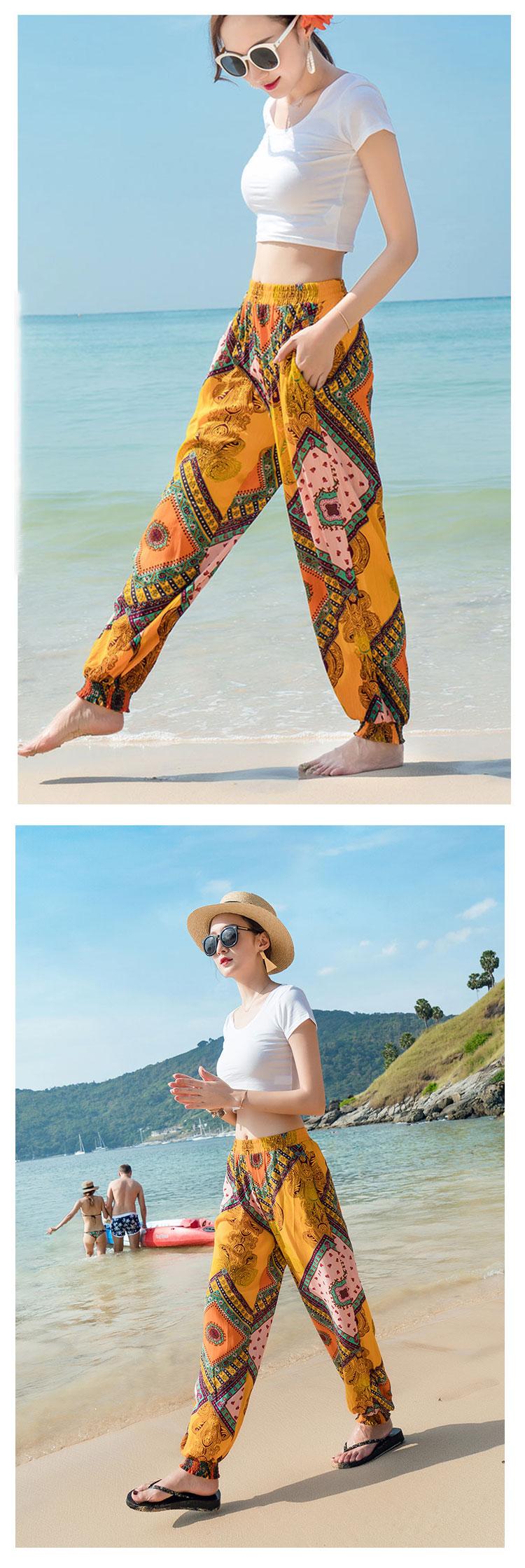跨境-泰国-沙滩裤