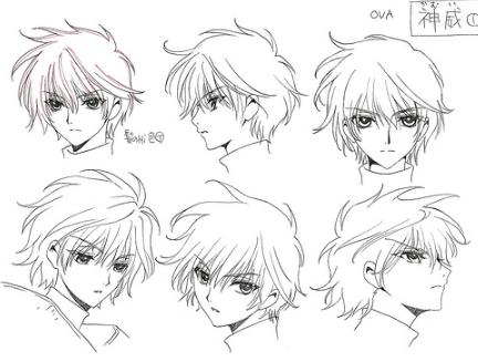 漫画人物表情设计