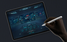 【可视化】iPad端大屏操作控制器