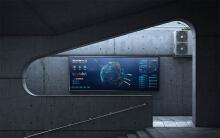 【可视化】科技感地图类大屏