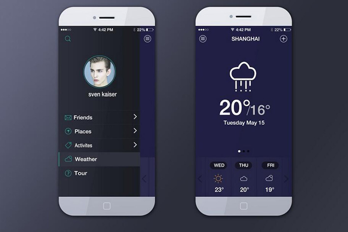 工具型天气预报APP开发