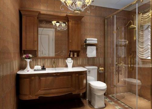 卫浴小挂件摆放设计