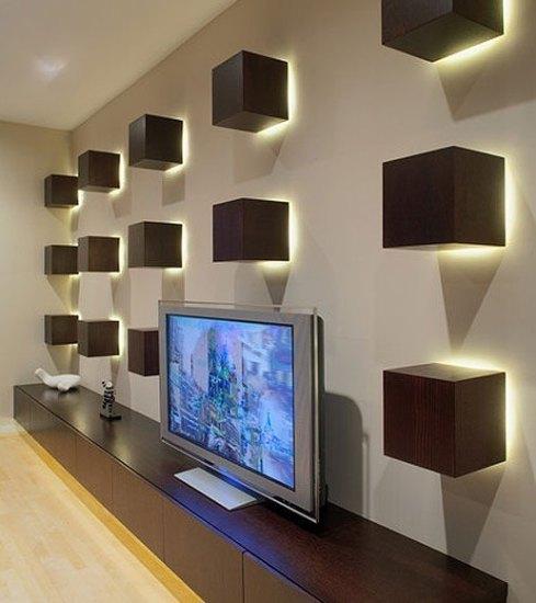 别致客厅电视墙设计 客厅电视墙装修效果图大全