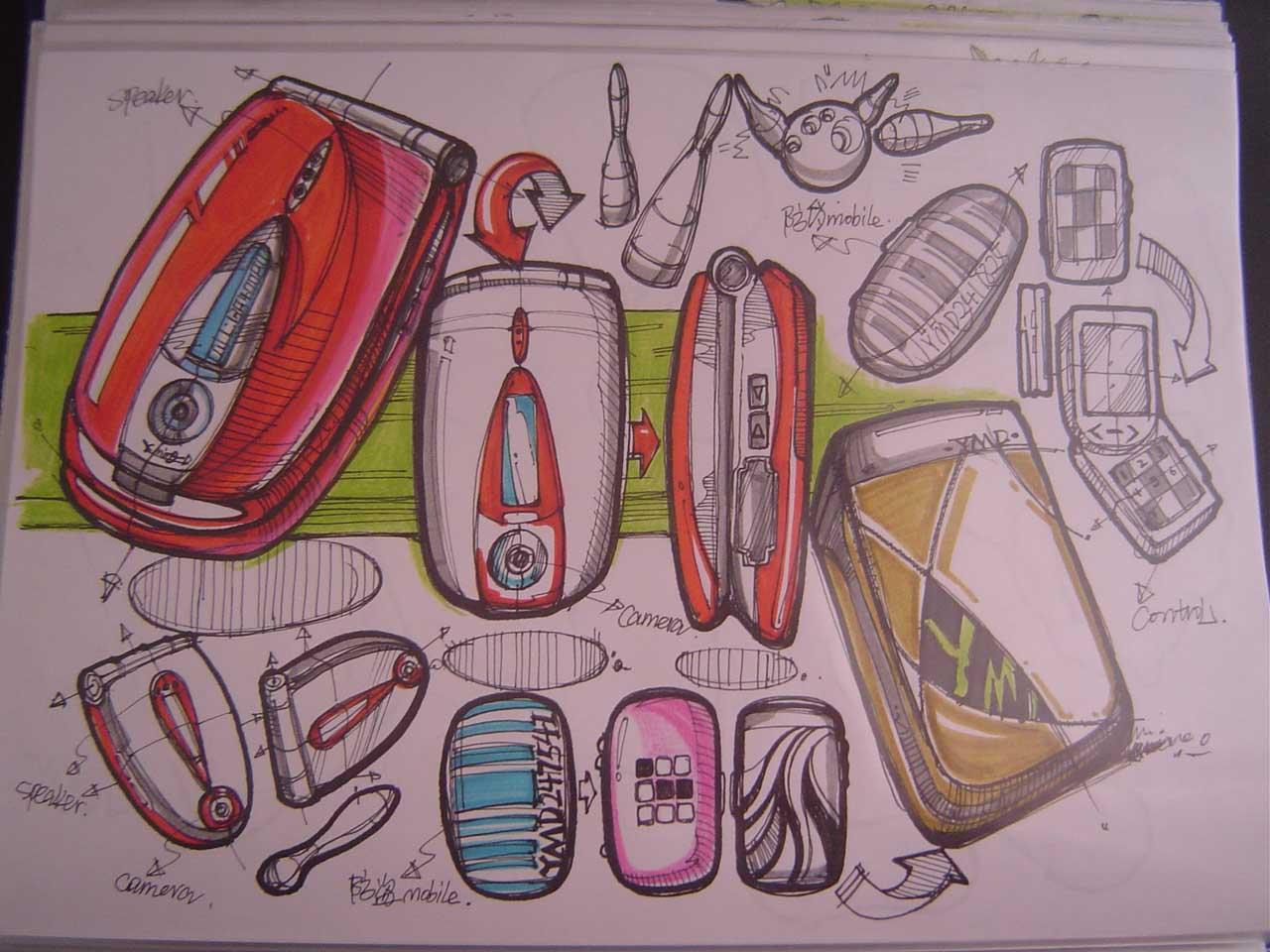 产品手绘步骤图片