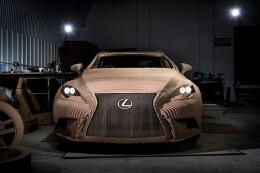 用纸造车的最高境界:全尺寸,能驾驶