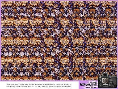 NIKOND3数码相机平面广告欣赏