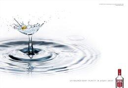 经典伏特加系列个性平面广告设计欣赏