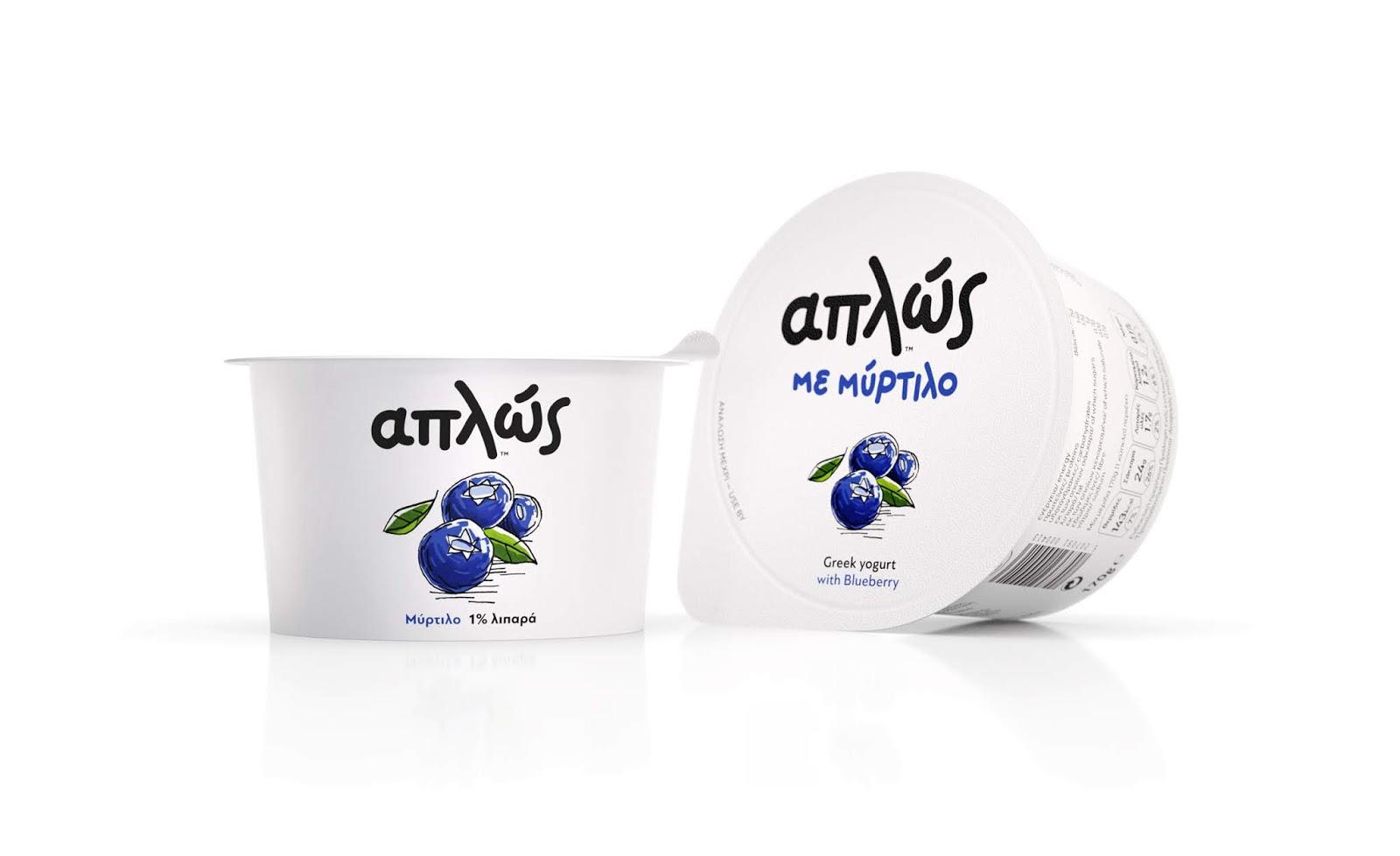 來自希臘的酸奶——食品包裝設計