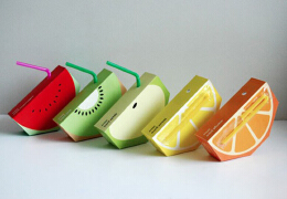 果汁包装饮料,特别的设计