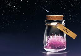 许愿晶灵魔法瓶,魔幻感觉