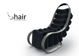 Shair 椅子设计,极致收纳