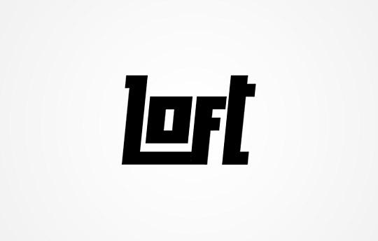 40个创意简单文字的logo设计