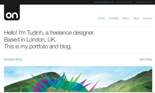 非常简单网站设计实例