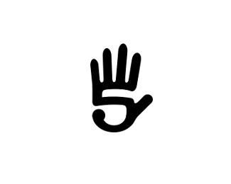 24个包含数字的创意logo设计