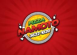 关于Pizza主题创意Logo设计图案