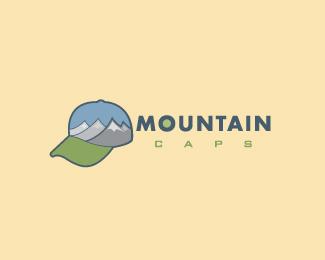 创意帽子元素logo设计