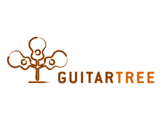 树木主题logo设计