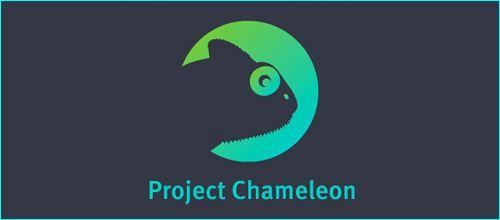 21款非常棒的变色龙元素logo设计