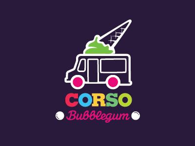 冰淇淋主题logo设计