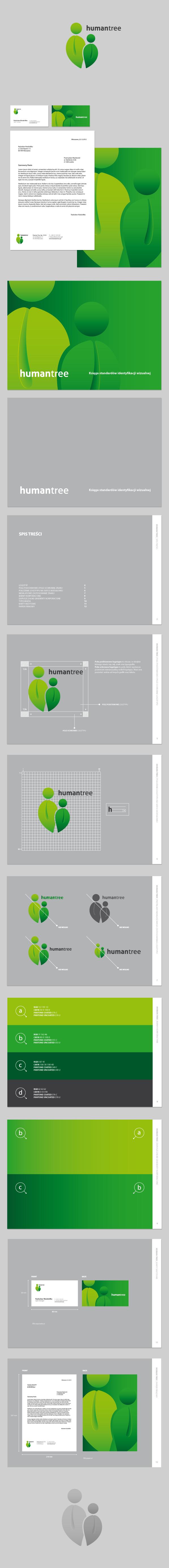 Humantree标志设计