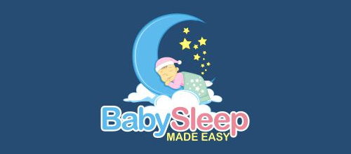 婴儿元素logo设计