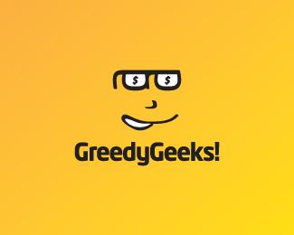 眼镜元素Logo设计