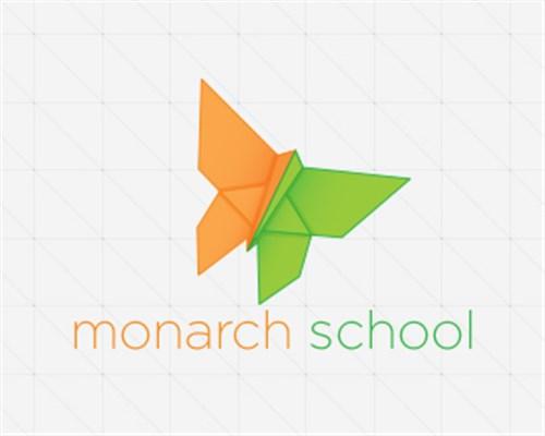 美丽的蝴蝶元素logo设计
