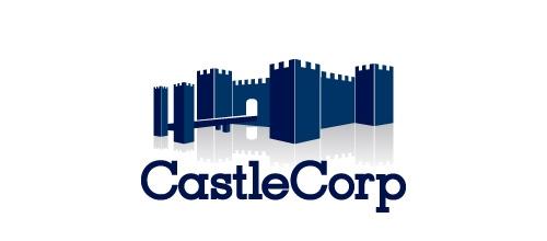 城堡元素LOGO设计
