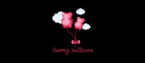 以气球为设计元素标志设计