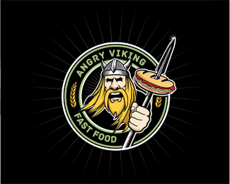 10个Vikings logo设计欣赏