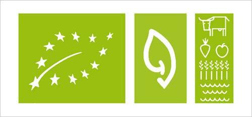 以绿色为主基调的标志设计(二)