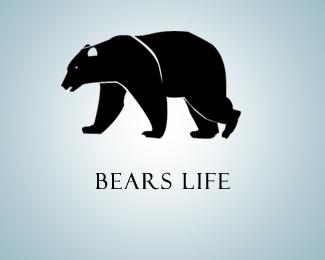 """""""熊""""元素logo设计"""