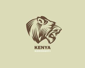 以狮子为设计元素的标志设计
