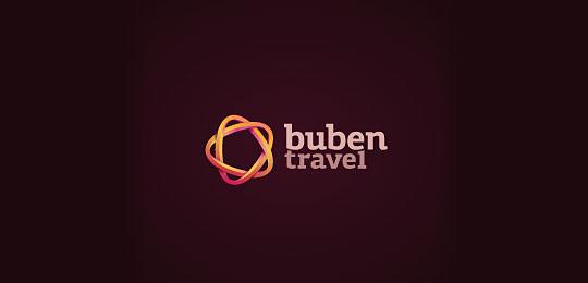 旅游主题创意logo设计(一)