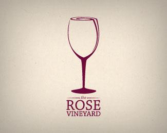 """""""酒""""主题元素的标志设计"""