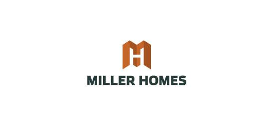 以房子为元素的logo设计
