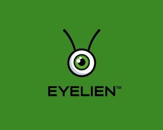 眼元素logo设计