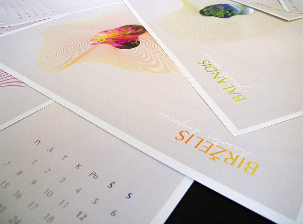 19款国外漂亮的2019日历设计