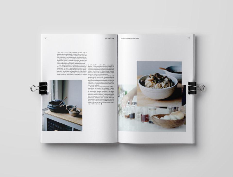 设计师Anna H.漂亮的杂志版面设计