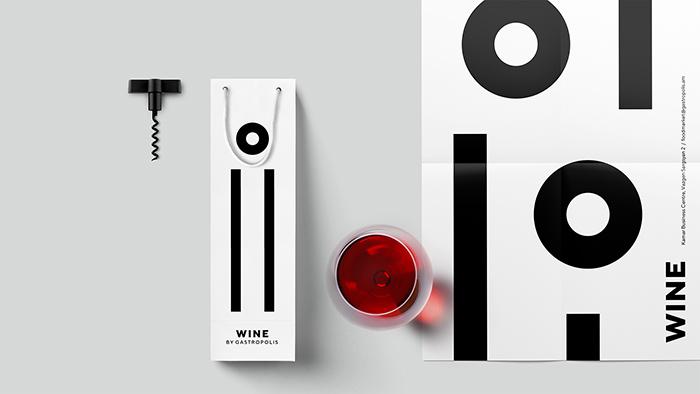 Gastropolis餐厅品牌形象和包装设计