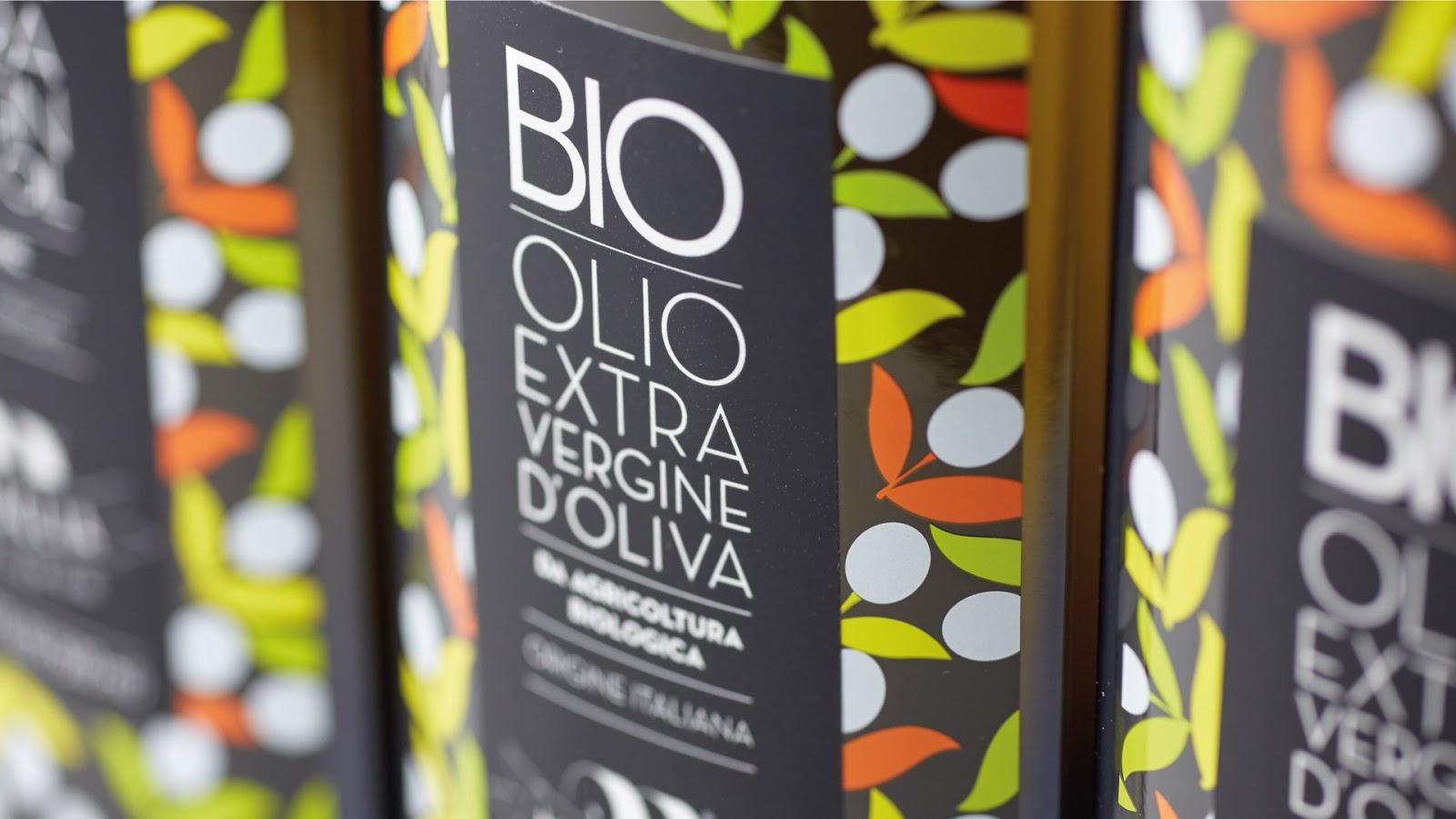 Essenza Apulian初榨橄榄油包装设计
