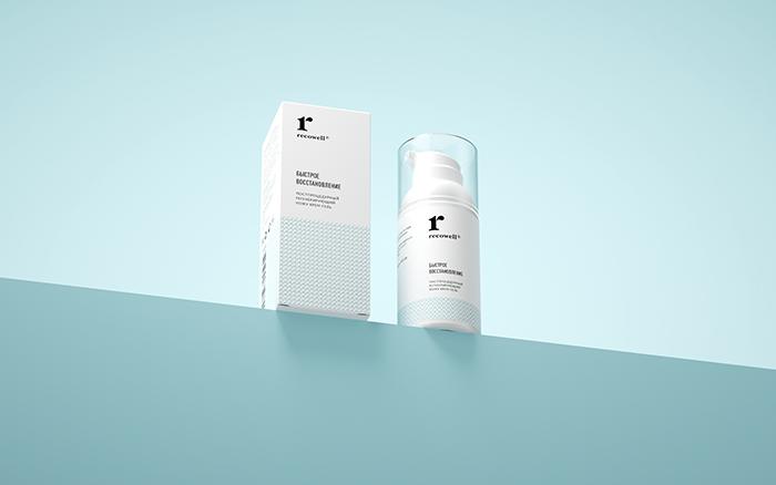 Recowell药膏包装设计