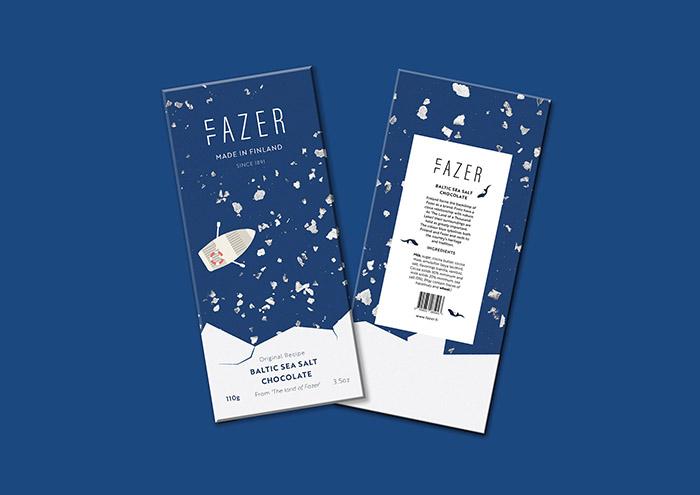Fazer巧克力包装设计