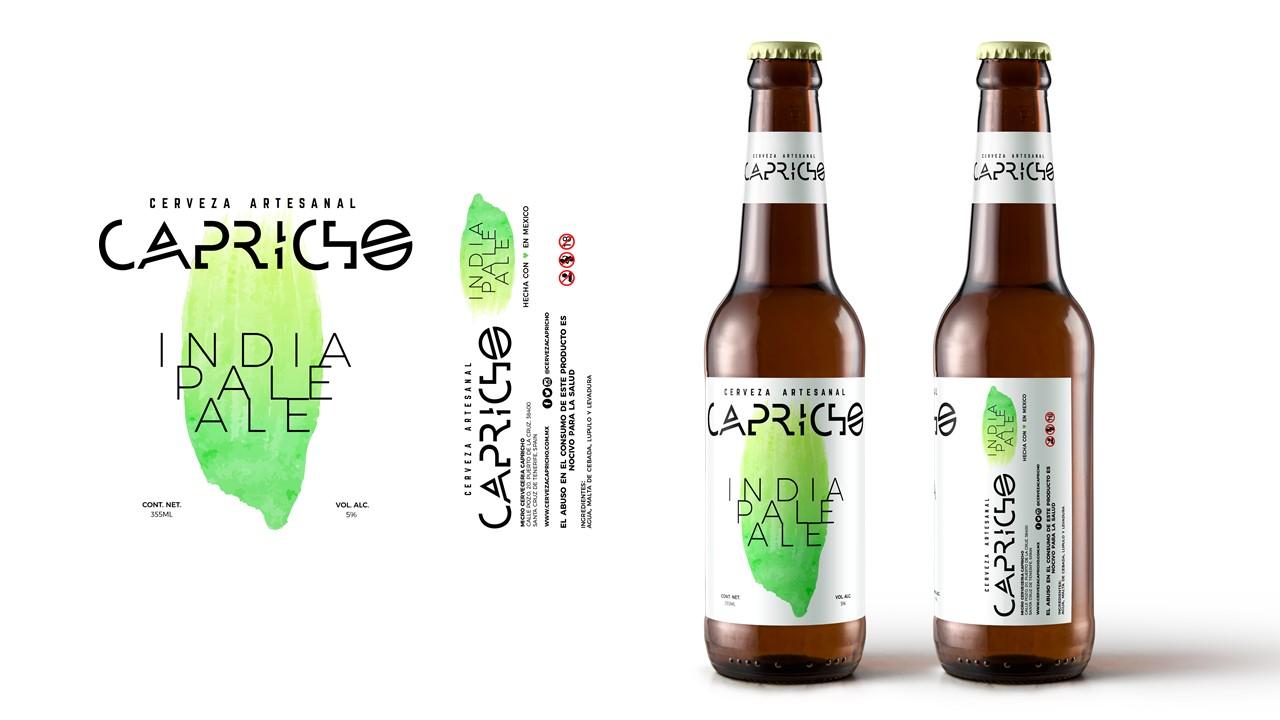 Capricho啤酒包装设计