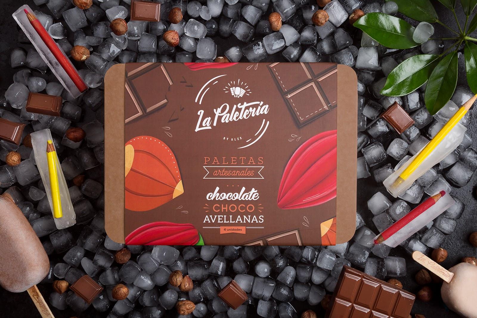 La Paletería冰棒包装盒设计