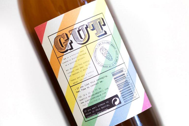 Gut啤酒包装设计