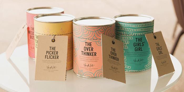 Chick Lit蜡烛包装设计