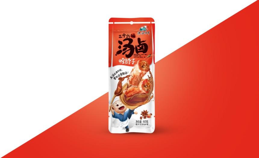 小零食包装设计:汤卤