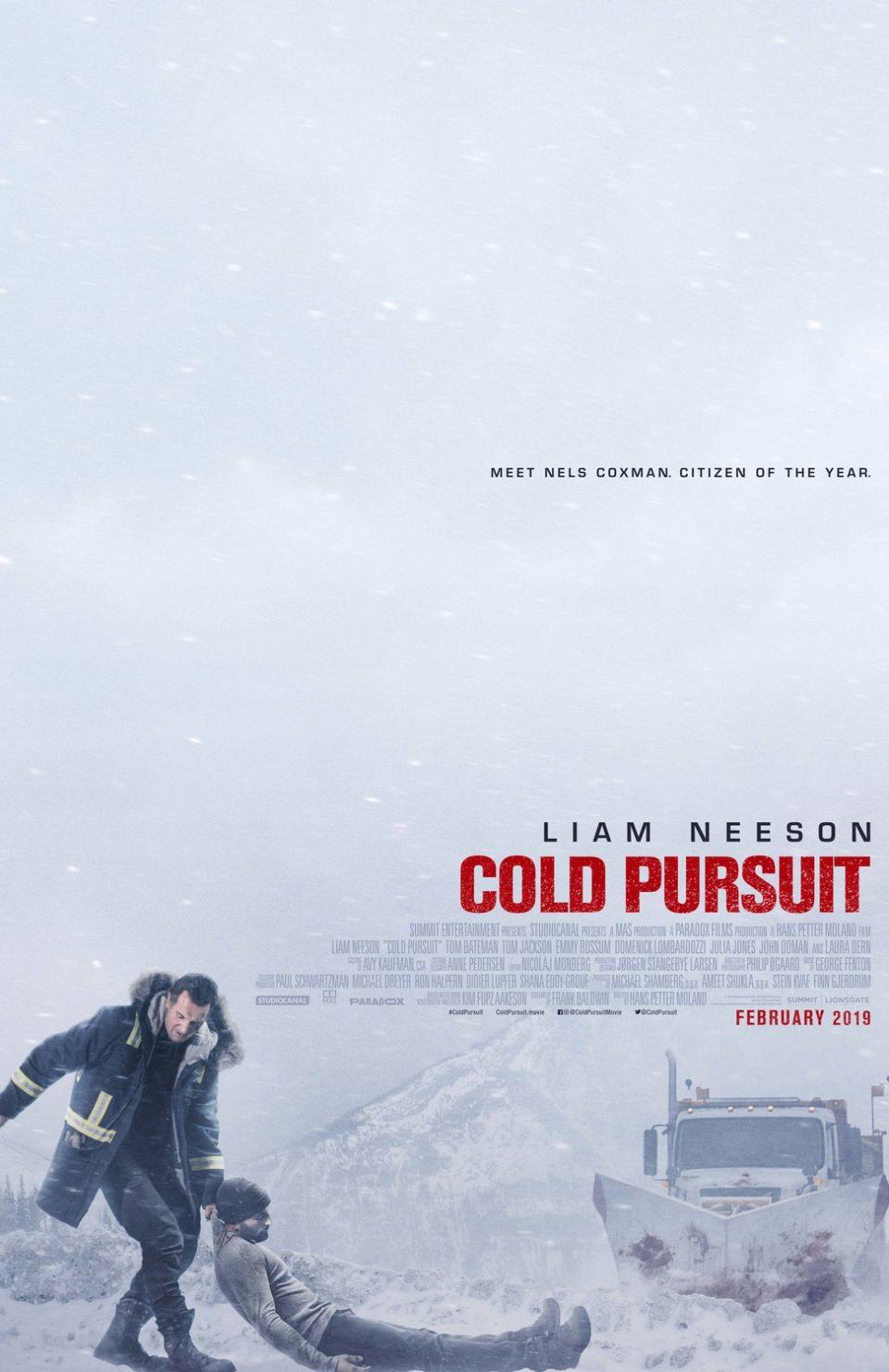电影海报欣赏:穷追不舍(Cold Pursuit)