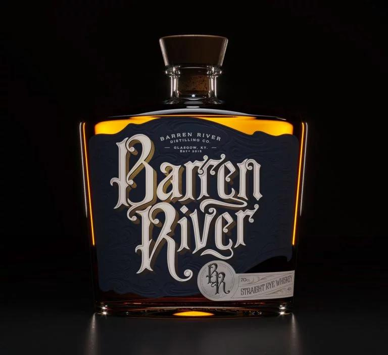 Barren River波旁威士忌包装设计